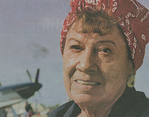'Rosie the Riveter' still at work on B-29