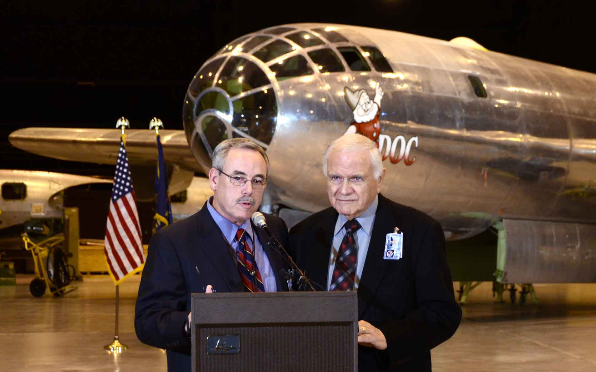 Wichita Business Leaders Take the B-29 Doc Under Their Wing