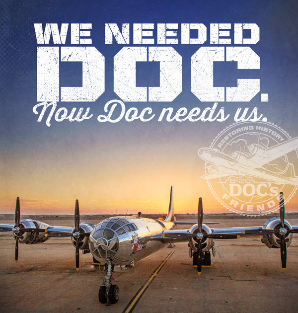 POSTERS: Download and share our mission to Help Doc Fly