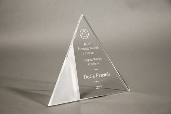 Doc's Friends earns 2015 ICAS Pinnacle Award