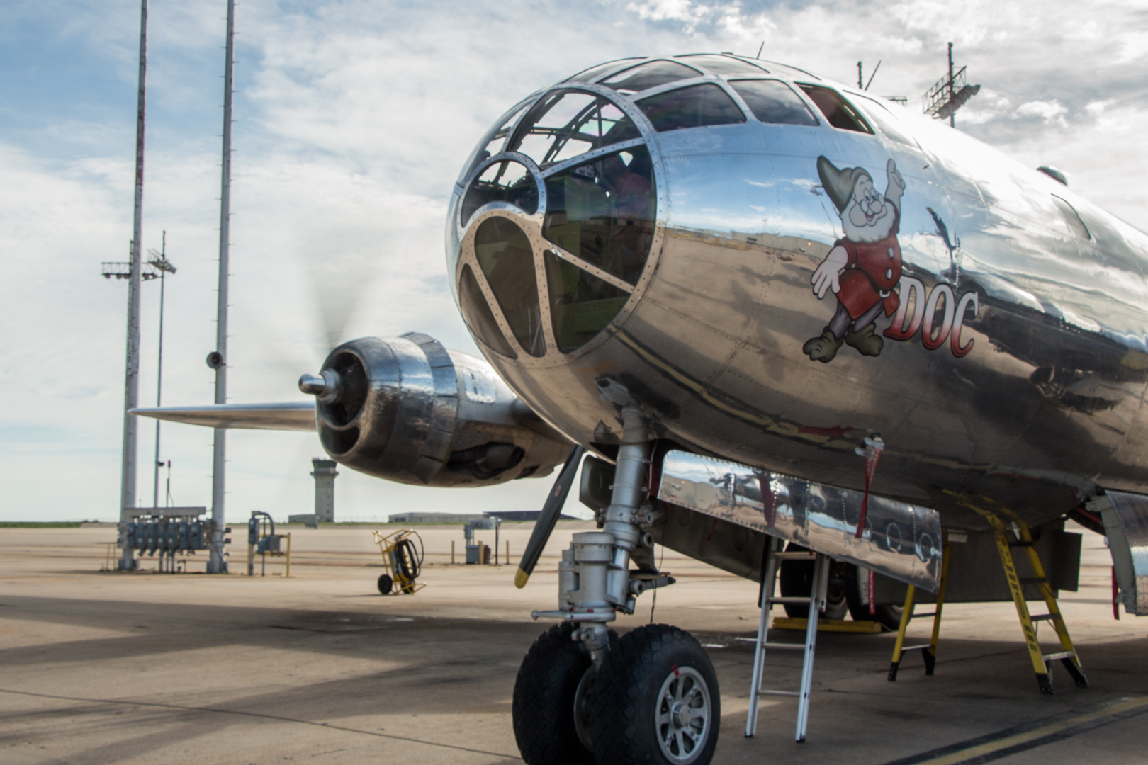 First flight scheduled for B-29 Doc