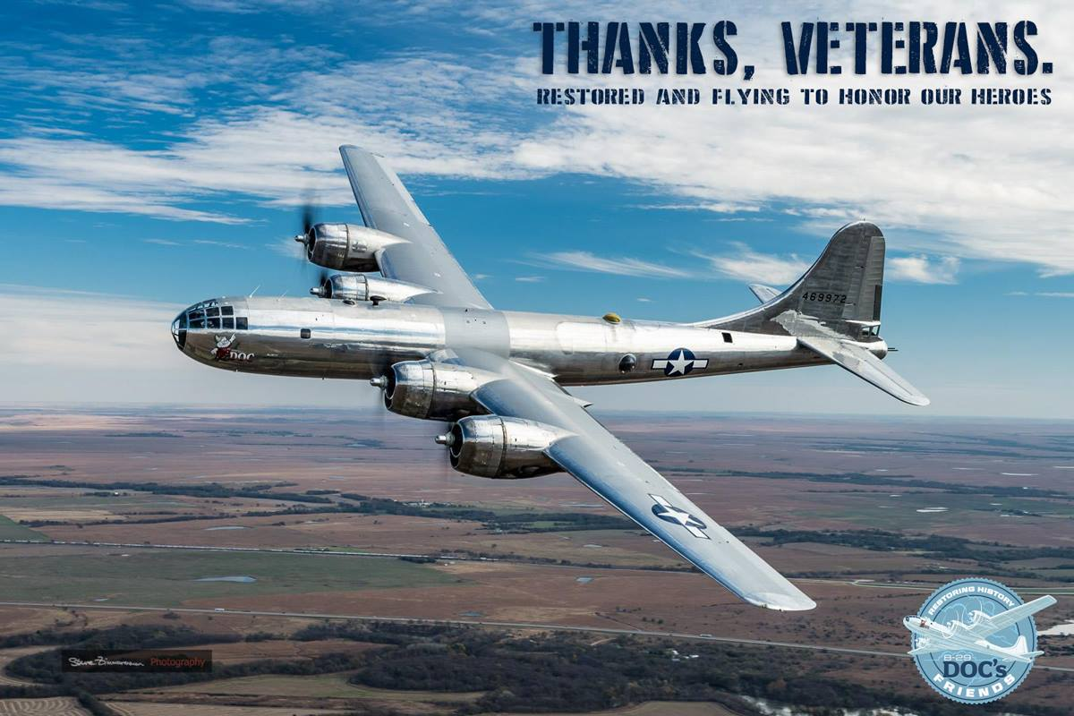 B-29 Doc to be featured on national TV, CBS Sunday Morning, Nov. 13