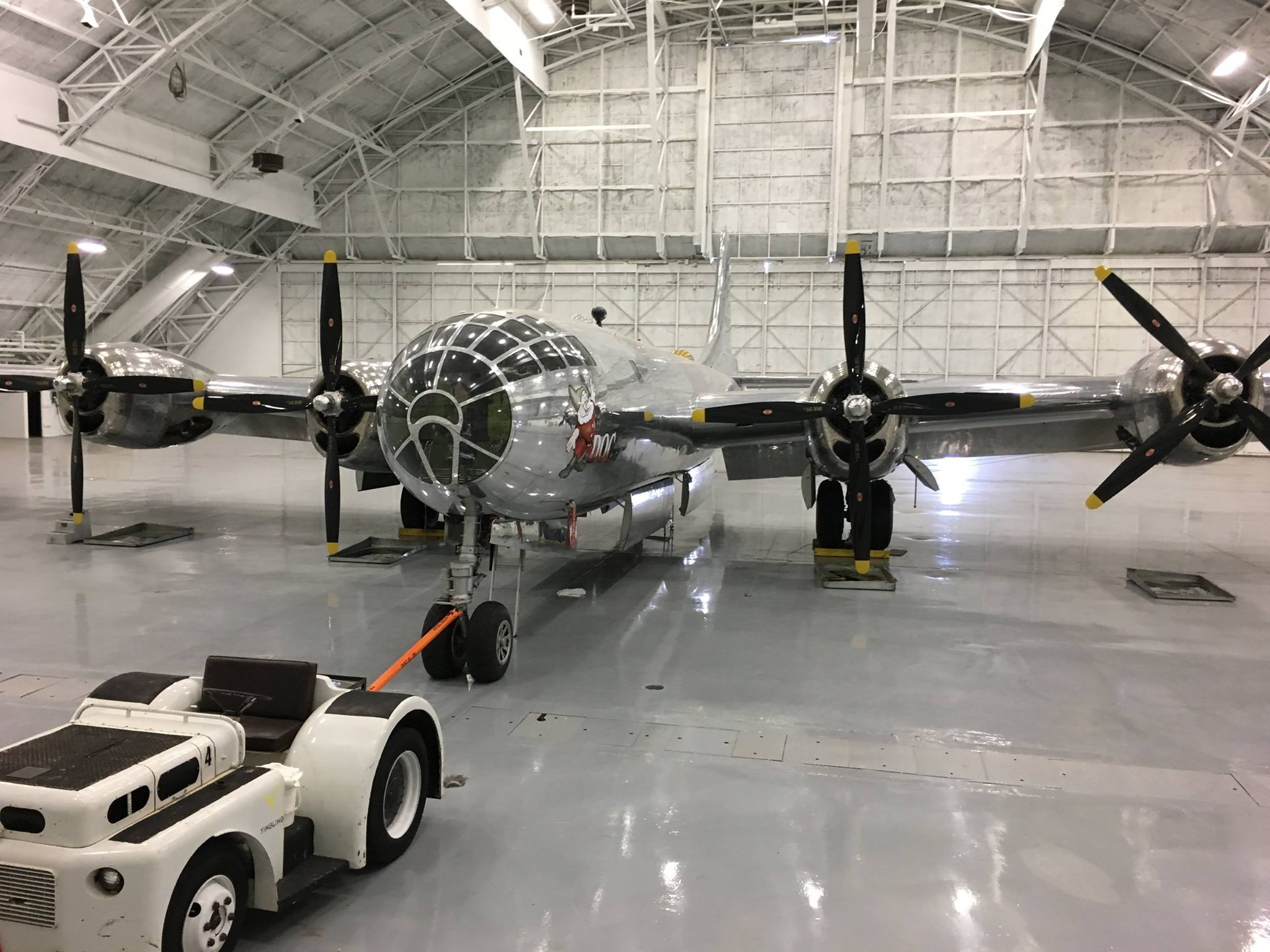 B-29 Doc clears 'phase one' of flight test operations