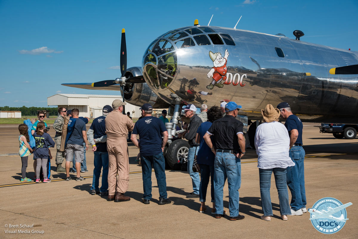 B-29 Doc Wichita Public Open House Scheduled for June 3