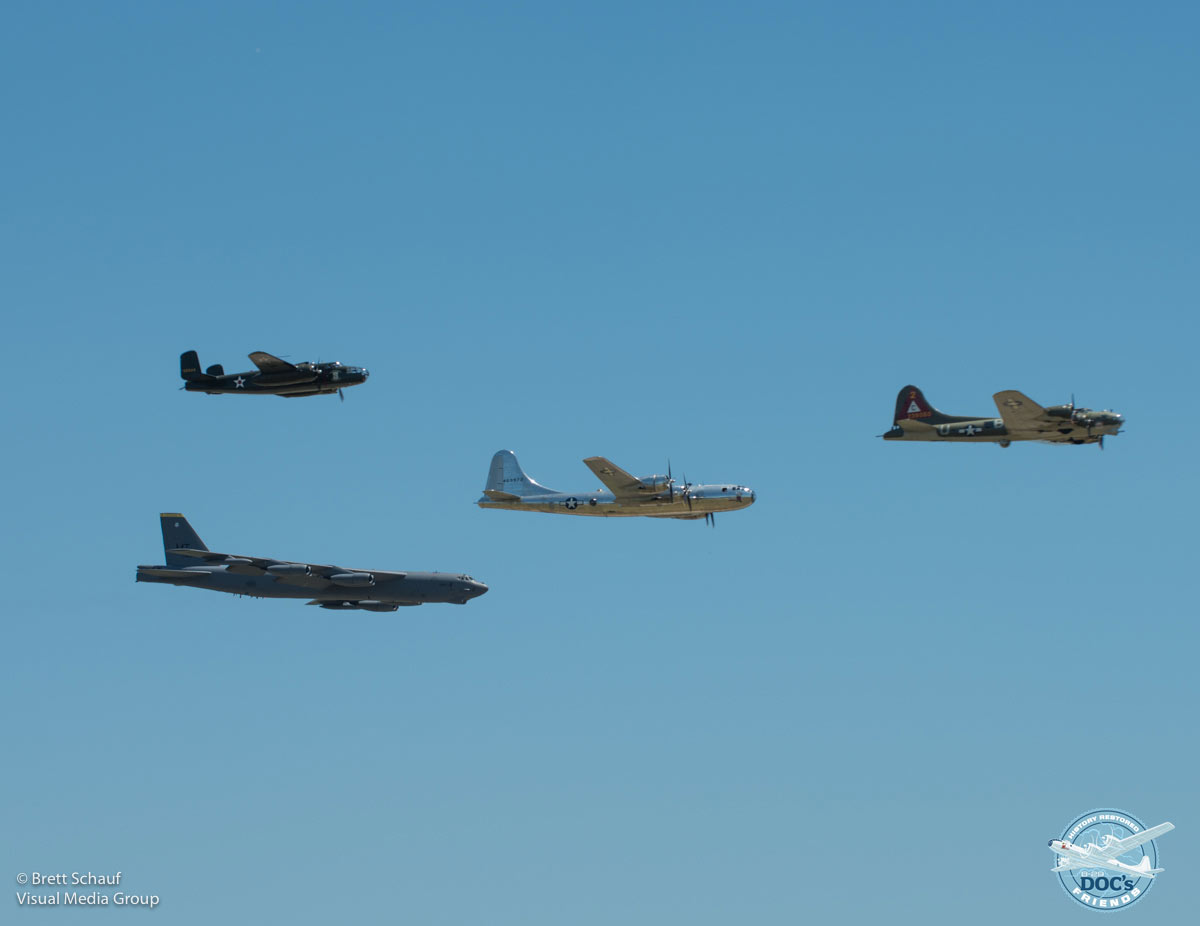 Doc's return to Barksdale: Defenders of Liberty Air Show, Day 1