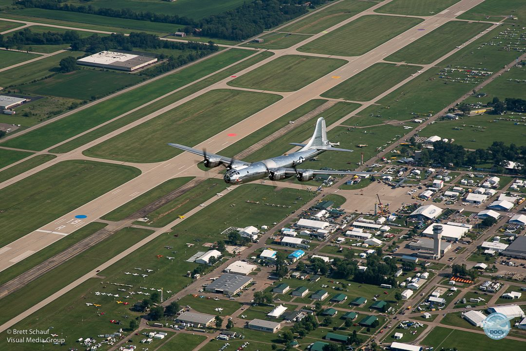 Doc arrives in Oshkosh for EAA AirVenture 2017
