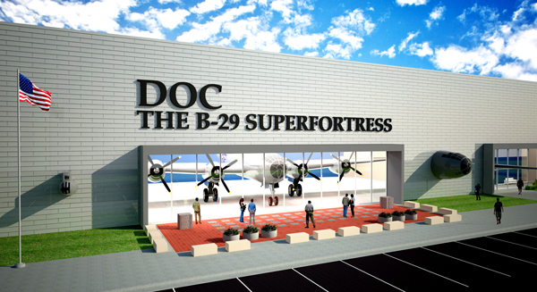 Wichita City Council approves long-term lease with Doc's Friends for B-29 Hangar and Education Center
