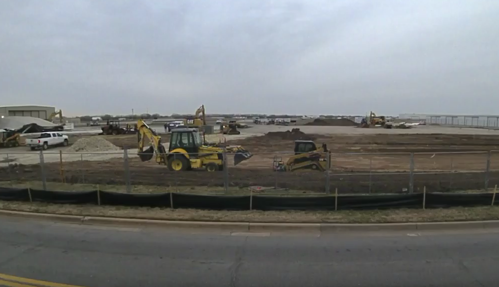 VIDEO: Construction Update: B-29 Doc Hangar and Education Center (April 13, 2018)
